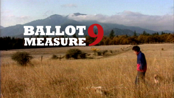 BALLOT MEASURE 9
